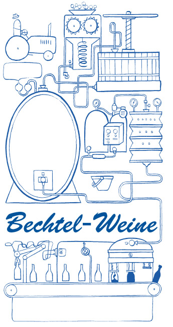 Logo Bechtel Weine à Eglisau Zurich